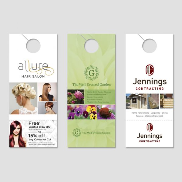 Doorhanger designs by Henstra Design